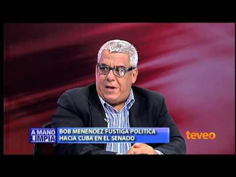Bob Menéndez fustiga política hacia Cuba en el senado - América TeVé