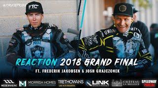 Josh Grajczonek & Frederik Jakobsen | 2018 Final 2nd Leg Reaction | POOLE SPEEDWAY 2020