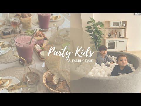 ❥ Party kids & family time ╳ brunch, préparatifs & recettes
