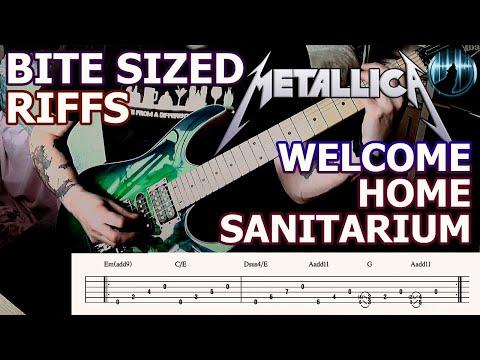 Bite Sized Riffs | Metallica - Welcome Home Sanitarium | Intro Guitar Riff