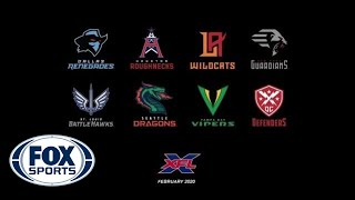 The XFL Unveils Team Names and Logos | FOX SPORTS