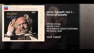 Verdi: Falstaff / Act 1 - Torno all