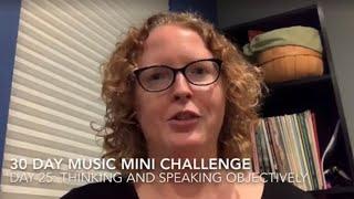 30 Day Music Mini Challenge - Day 25
