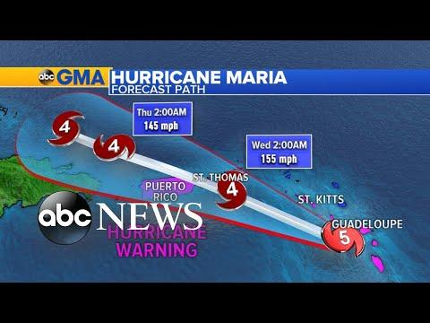 Hurricane Maria slams the Caribbean
