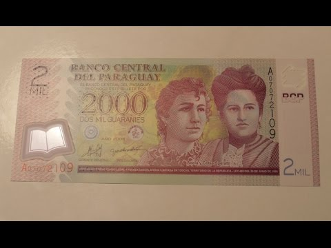Plastic Banknote From Paraguay Review