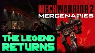 MechWarrior 2 is BACK! (and working on Windows 10)
