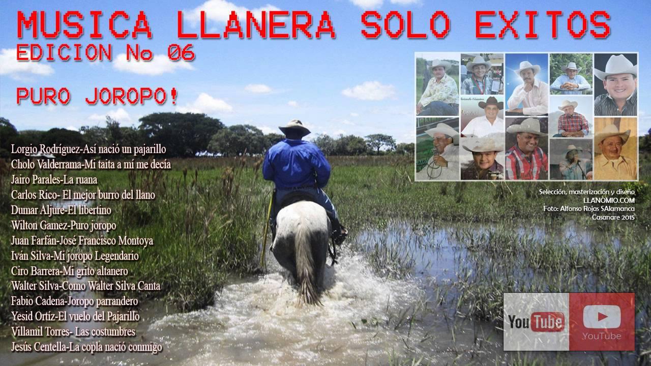 Musica Llanera Solo Exitos Edicion No 6 Puro Joropo Youtube