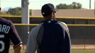 Robinson Cano at Spring Training