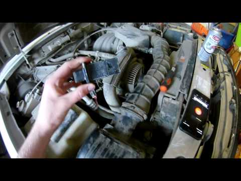 how to clean an mass airflow sensor