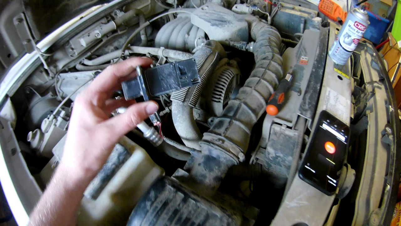 How To Clean Your Mass Airflow Sensor Maf Ford Mazda Youtube Fuel Filter Location 2003 6 3 0l