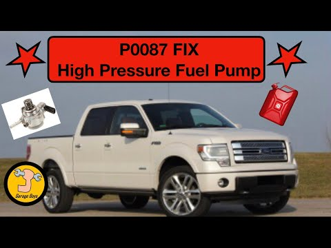 How To Fix P0087 Ford High Pressure Fuel Pump - YouTube