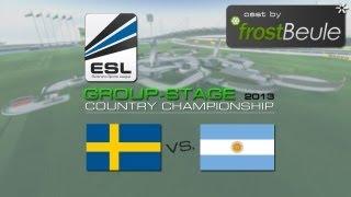 ESL CC 2013: SWE vs. ARG - cast by frostBeule