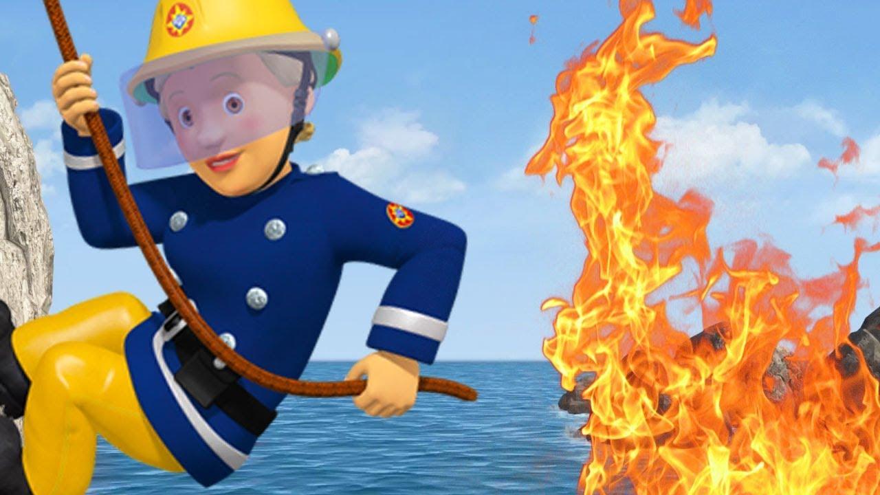 Leuke Kleurplaten Brandweerman Sam.Brandweerman Sam Nederlands Brandweerman Jenny 30 Minuten Redt Avontuur Nieuwe Afleveringen