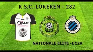 Nat. Elite U12A - K. SC Lokeren -  KV Club Brugge