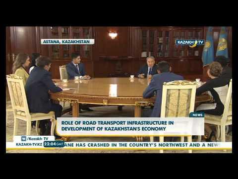 Role of road transport infrastructure in development of Kazakhstan's economy