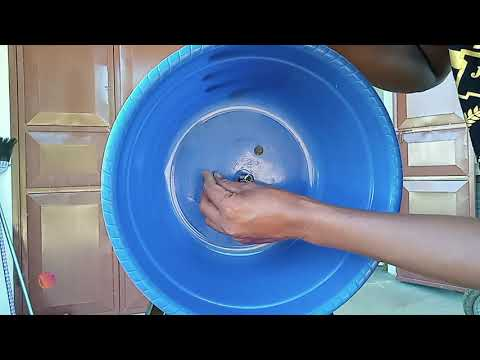 ideas on how to make grated coconut, from a used water pump