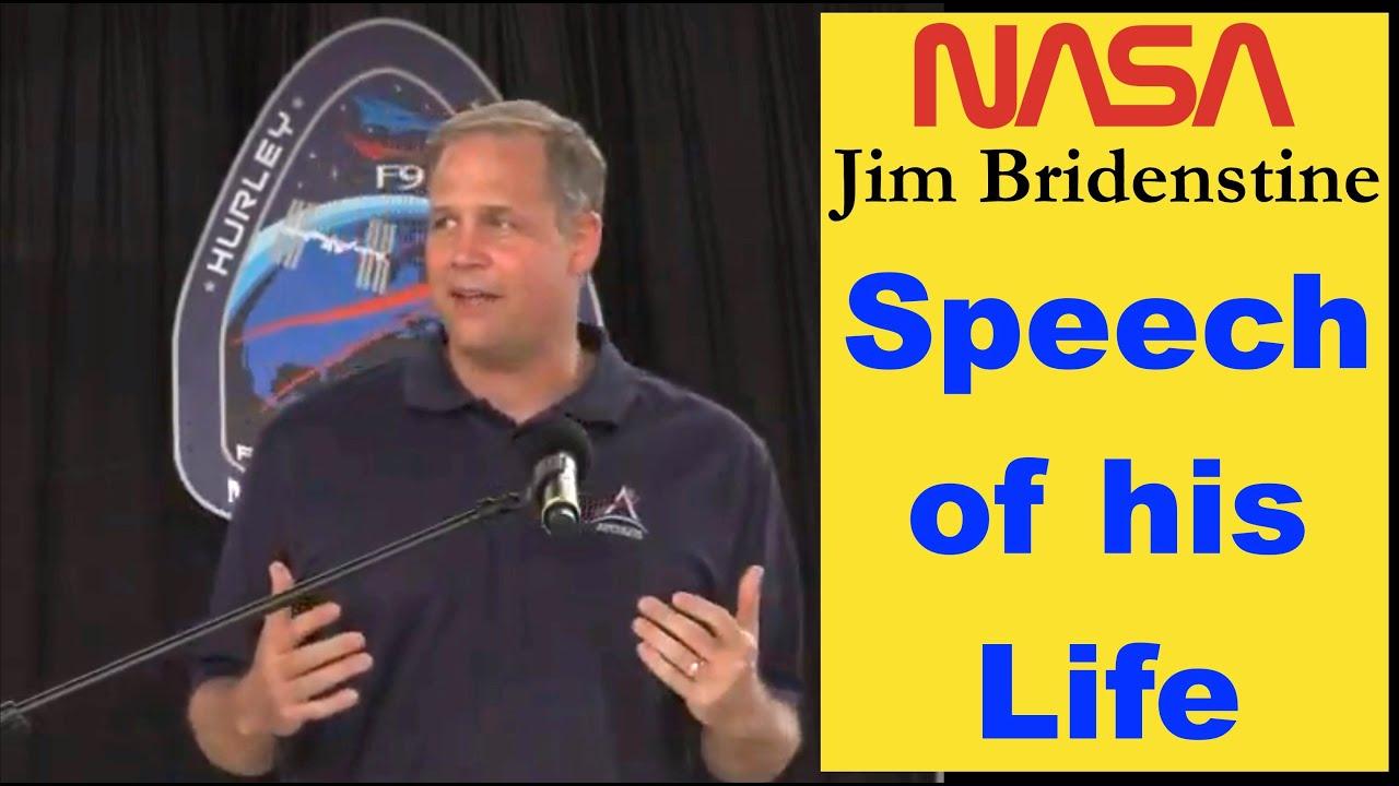 Jim Bridenstine - Greatest Speech: Crew Dragon Demo-2