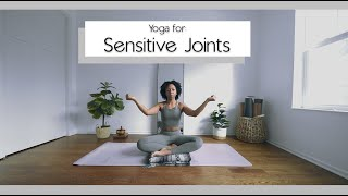 Yoga for Sensitive Knees, Wrists, & Elbows 🦵🏽🤍(Arthritis Friendly) | Bright and Salted Yoga