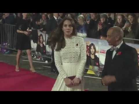 Duchess of Cambridge at 'A Street Cat Named Bob' premiere