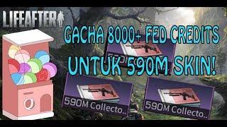 LIFEAFTER - GACHA SKIN 590M COLLECTOR! NGABISIN 8000 FED CREDITS!!! GILA ABISSSS!!