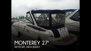 [SOLD] Used 2005 Monterey 270 Sport Cruiser in Keyport, New Jersey