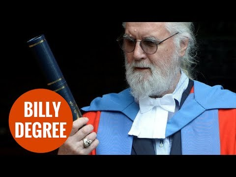 Billy Connolly Receives honorary degree from top university