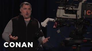 Tony The Cameraman Has 17 Degrees - CONAN on TBS