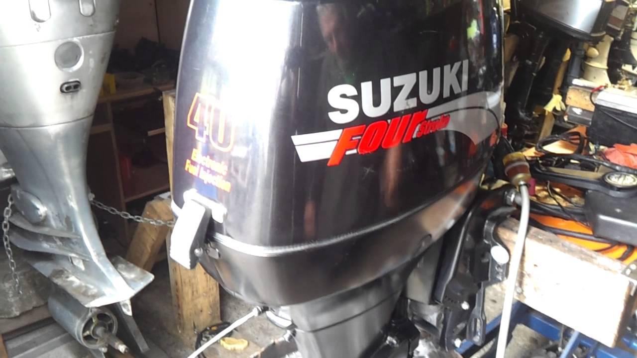 2005r suzuki df 40 hp outboard motor four stroke 4 suw for Suzuki 40 hp outboard motor
