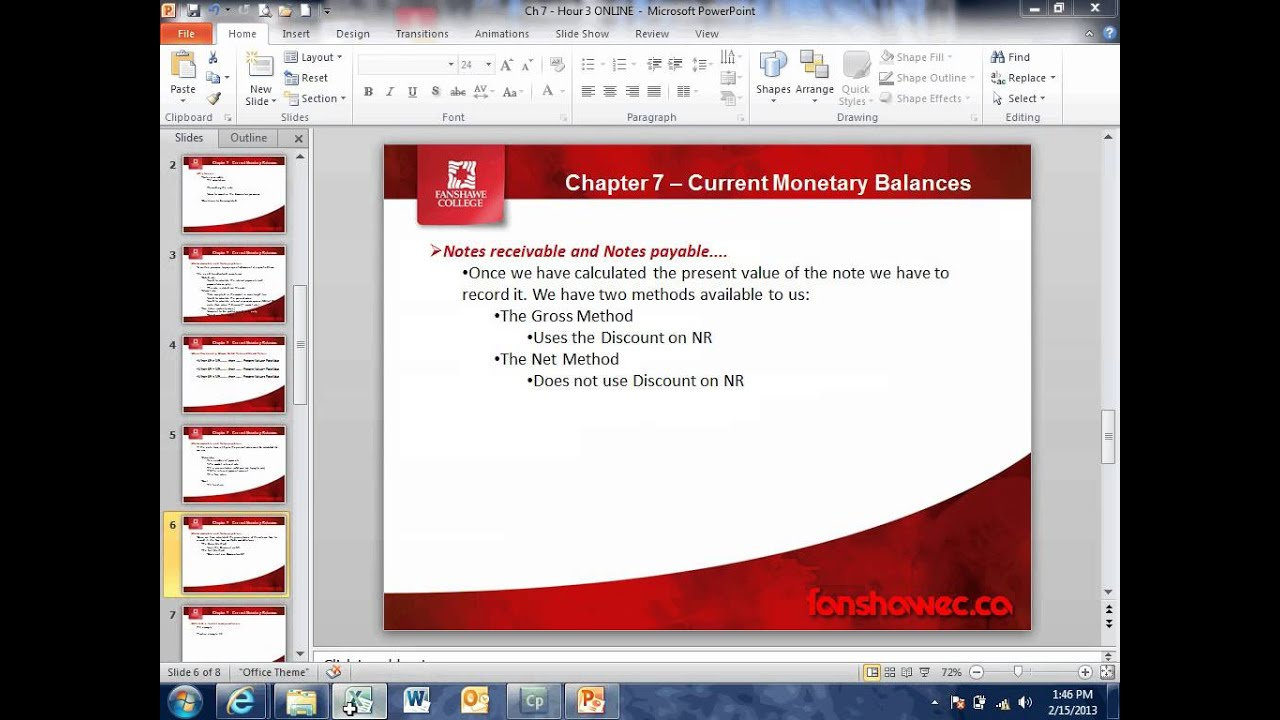 Calculating Present Value of Note Receivable.mp4 - YouTube
