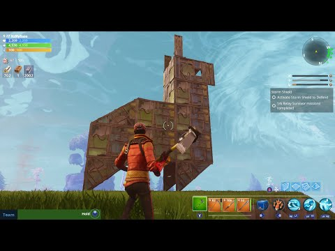 How To Build A Loot Llama In Fortnite Save The World!!!!!!!