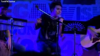 Ton AF8 - Love on top (acoustic) #Beer Park Mega Bangna - 141213 [Full HD]
