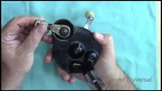 Ручной привод на Подольскую швейную машинку. Профилактика и ремонт. Видео№79.