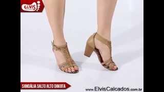 Sandália Feminina Dakota Z0023 Natural