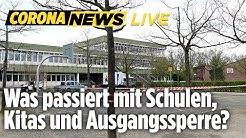 🔴 Lockert Merkel die Maßnahmen? Die Ergebnisse des Corona-Kabinetts jetzt LIVE