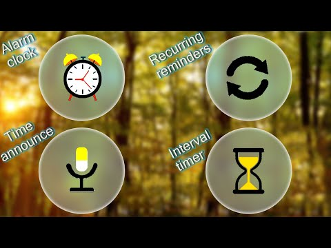 Android App : Recurring Reminder, Interval Timer & Time Announce