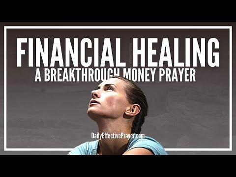 Prayer For Financial Healing | Powerful Money Prayer For Financial Blessing