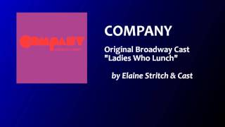 Ladies Who Lunch - Company, OBC (1970)