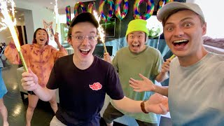 Ryan Hit 1,000,000 Subscribers!! (1 Million Surprise Celebration)