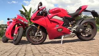Ducati Panigale V4S Full Test