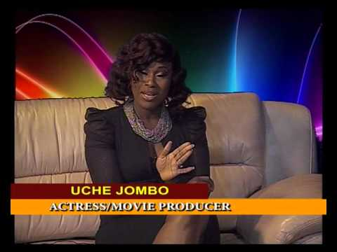 UCHE JOMBO in chat with Thecla Wilkie...Talks about Movies, Men and Marriage.