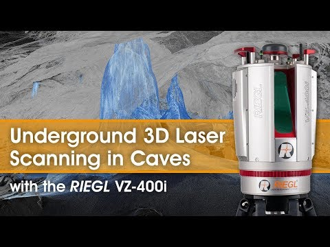 Underground Cave Scanning using the RIEGL VZ-400i Terrestrial Laser Scanner!