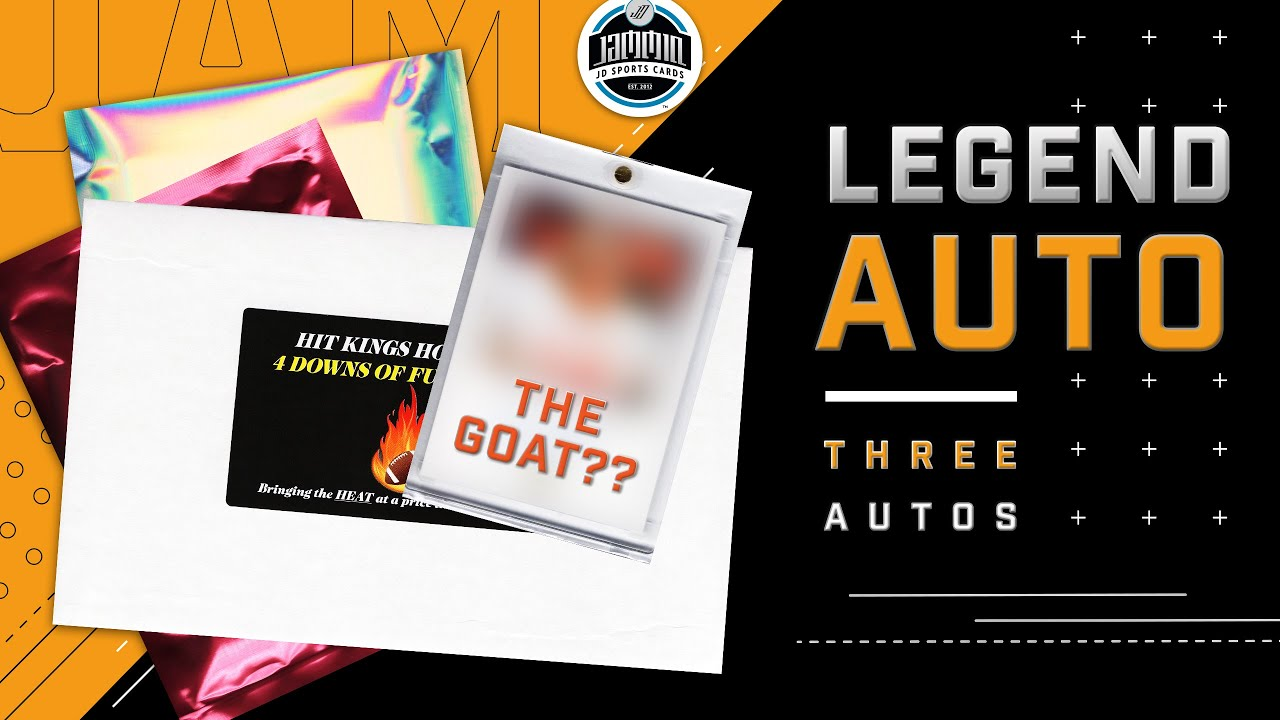 Hit Kings Hot Pack | 4 Downs of Fun | LEGEND AUTO!!!