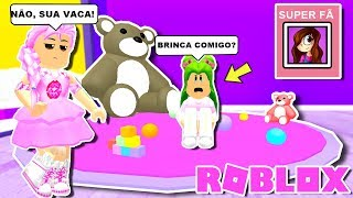 THE SPOILED SISTER AND VERY JEALOUS IN THE ROBLOX (HISTORINHA)