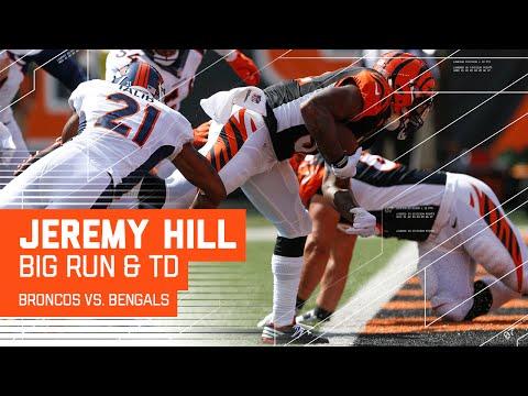 Jeremy Hill Pummels Denver's Defense! | Broncos vs. Bengals | NFL