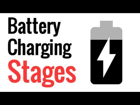 Lead Acid Battery Charging Stages