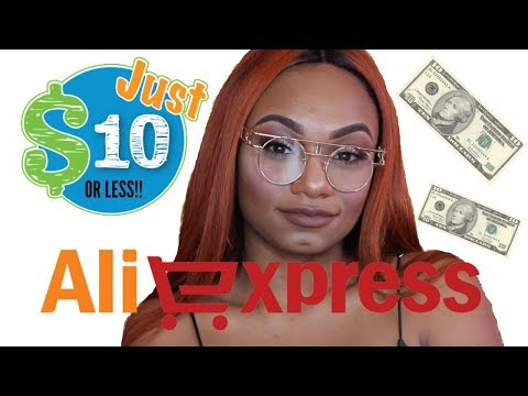 $$afforable-baddie-clear-glasses-aliexpress-try-on-haul!!!!$$