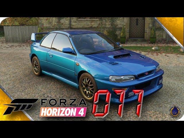 FORZA HORIZON 4 🚘 [011] Scheunenfund: 1998 Subaru Impreza 22B STI