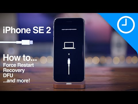 iPhone SE 2 (2020): how to force restart, enter recovery mode, enter DFU mode, etc