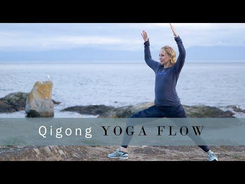 Intermediate Qigong Yoga Flow for Digestion