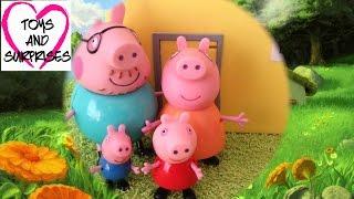 Свинка Пеппа -  Мультфильм из игрушек - Красная Шапочка Peppa Pig